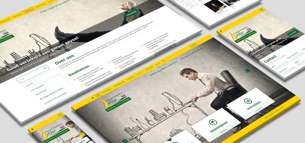 Responsive Webdesign kees-dekker.nl