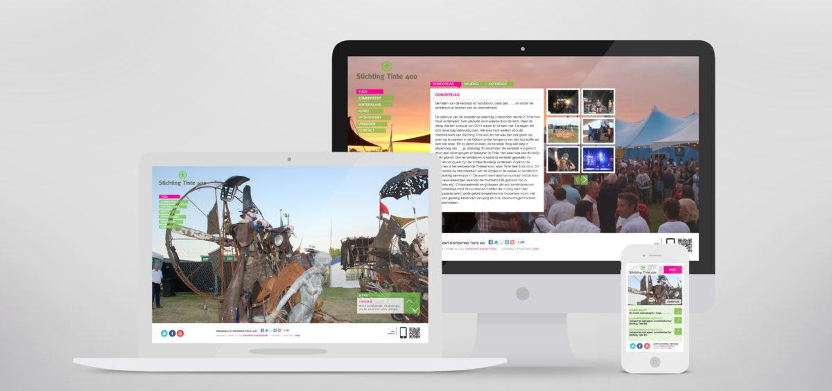website voor stichting tinte 400