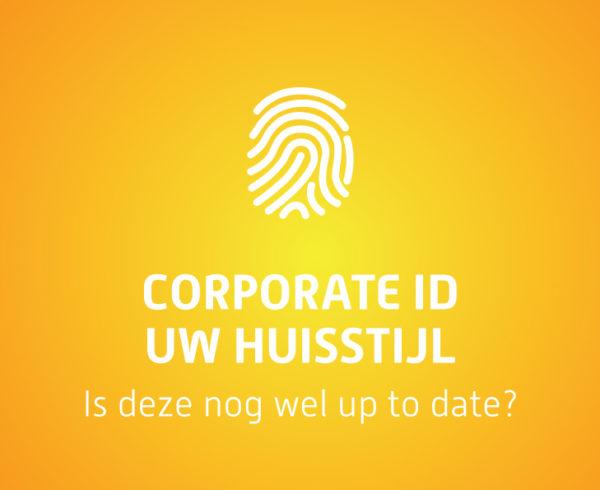 Corporate ID is de huisstijl up to date